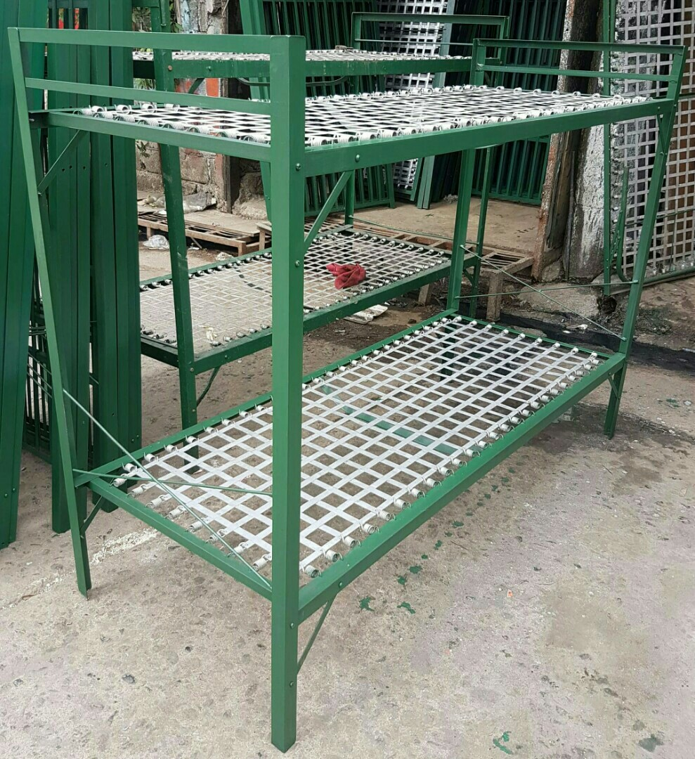 Double Deck Frame Spring Type, Home & Furniture on Carousell