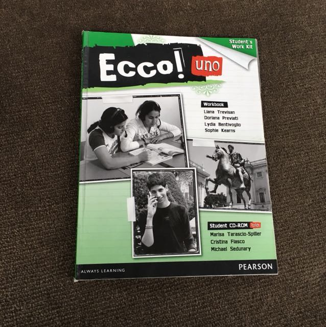 Ecco Uno workbook