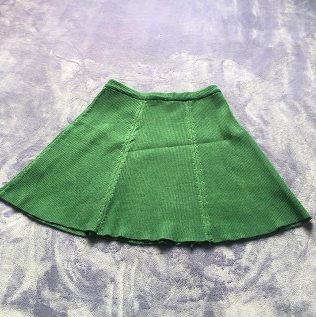 Eyescream綠色短裙-F