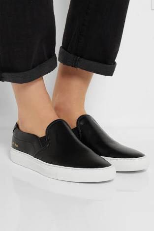 Firm on price. new with box AUTHENTIC COMMON PROJECTS white slip-on achilles sneakers - 37 - fits 7.5-8 best. Comes complete - ordered the wrong size. In WHITE. See pic for reference only