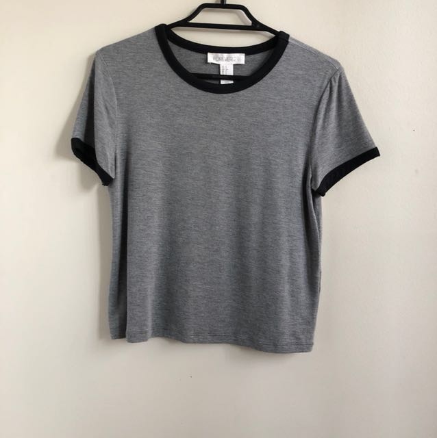 Forever 21 grey tee shirt