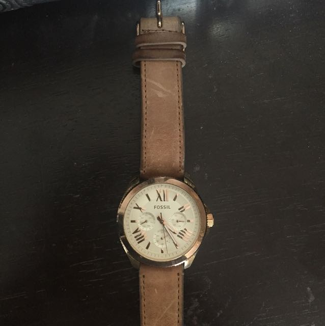 Fossil watch rose gold