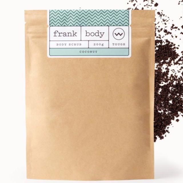 Frank Body - Coconut body scrub