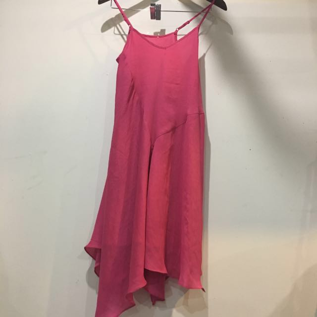 Fuchsia Slip Dress Size 6
