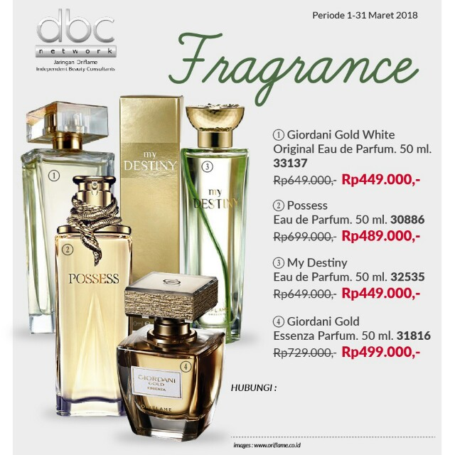 Giordani Gold White Original Health Beauty Perfumes Nail Care