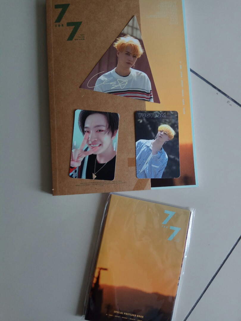 Got7 7for7 album