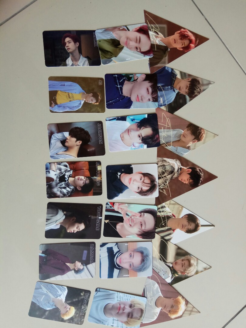 Got7 7for7 Official Pc full set