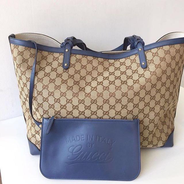 Gucci tote bag size L