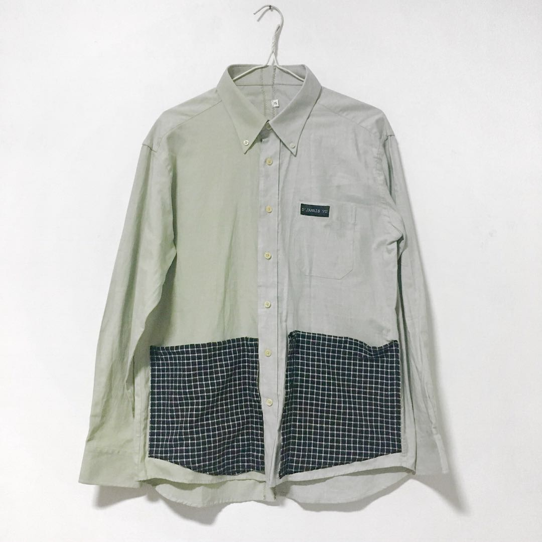 (HANDMADE) Patched Pocket Shirt