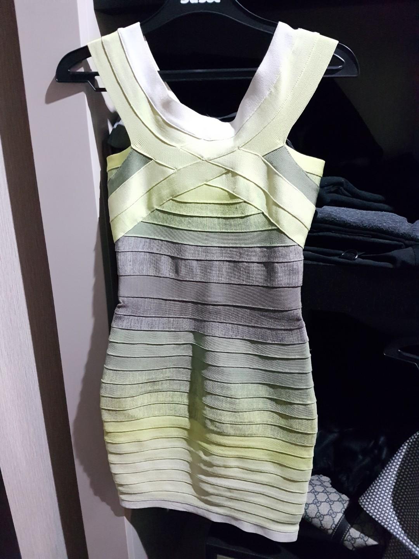 Bandaged dress