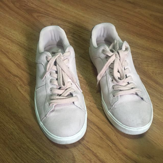 H&M Blush Pink Sneakers