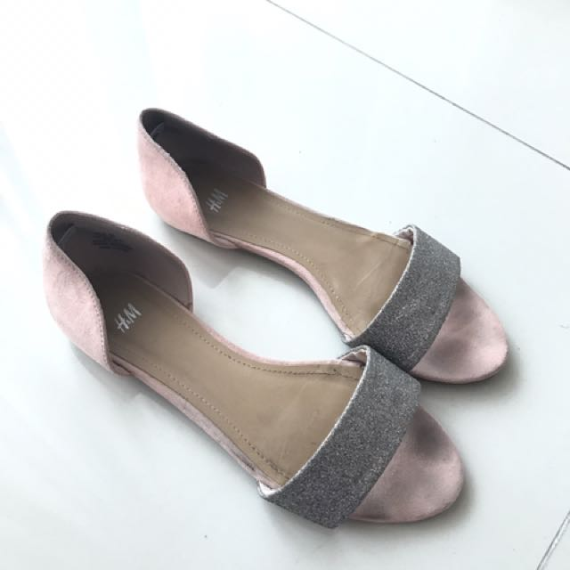Glitter H amp;m Carousell FashionShoes On SandalsWomen's EDYH9IW2