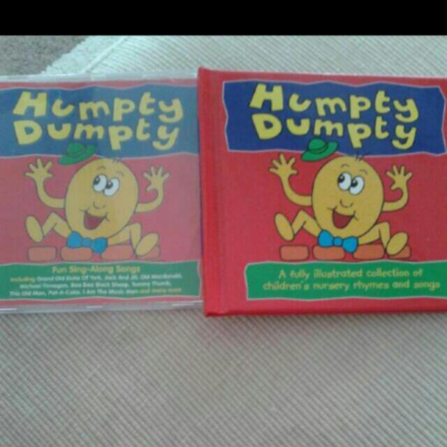 HUMPTY DUMPTY BOOK & CD PACK