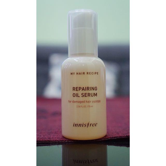 Innisfree My Hair Recipe Oil Serum