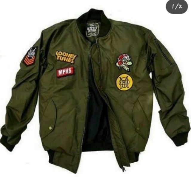 Jaket Bomber  pilot-us army xsensor