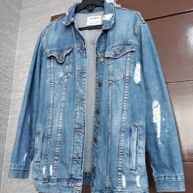 Jaket Jeans pull&bear