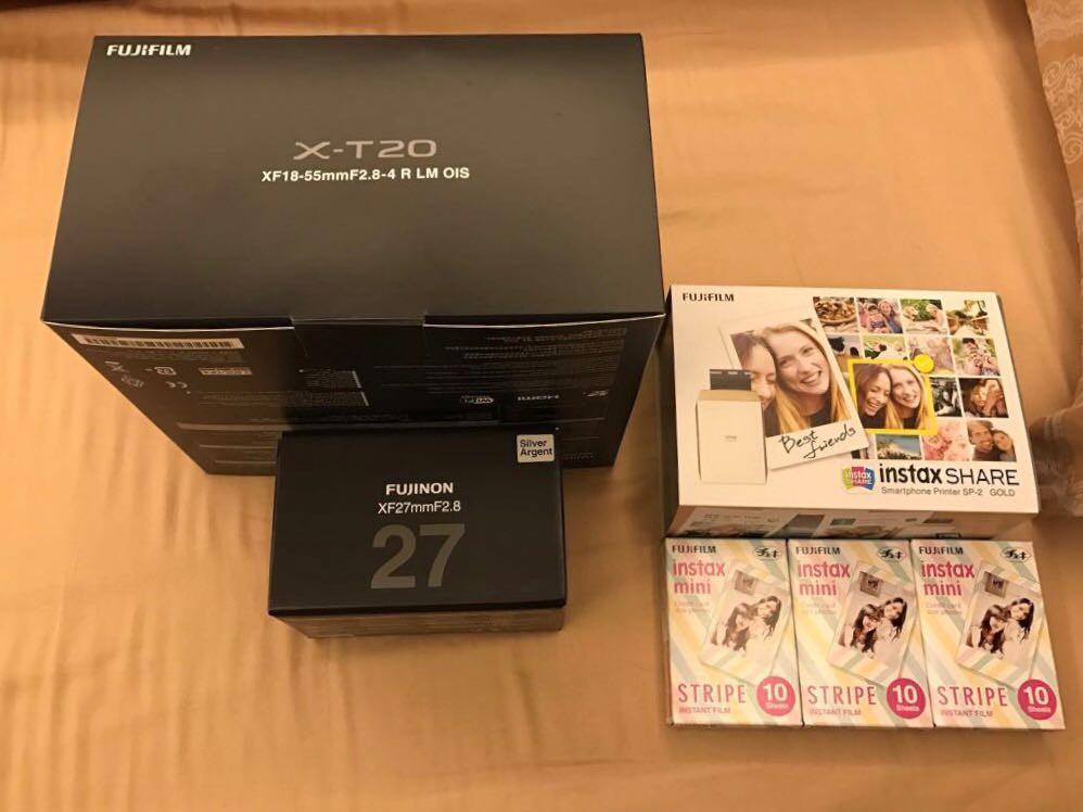 Jual Fujifilm X-T20 BARU BELUM PERNAH UNBOXING