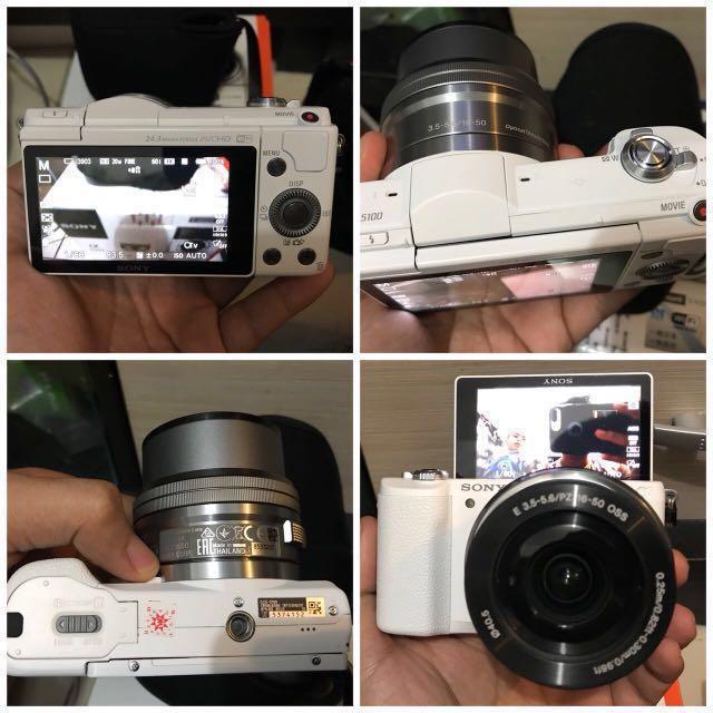 Kamera Mirroless SONY A5100