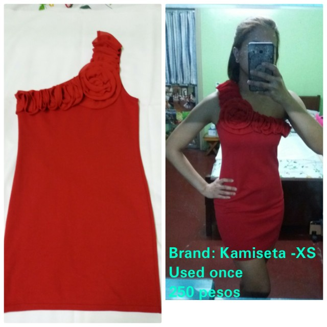 Kamiseta Red Dress