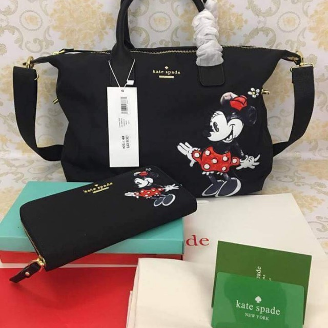 Kate Spade Mickey Mouse Bag Set Women S Fashion Bags Wallets On Carou