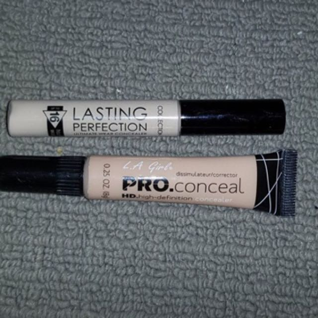 L.A. girl proconceal + Collection nz concealer