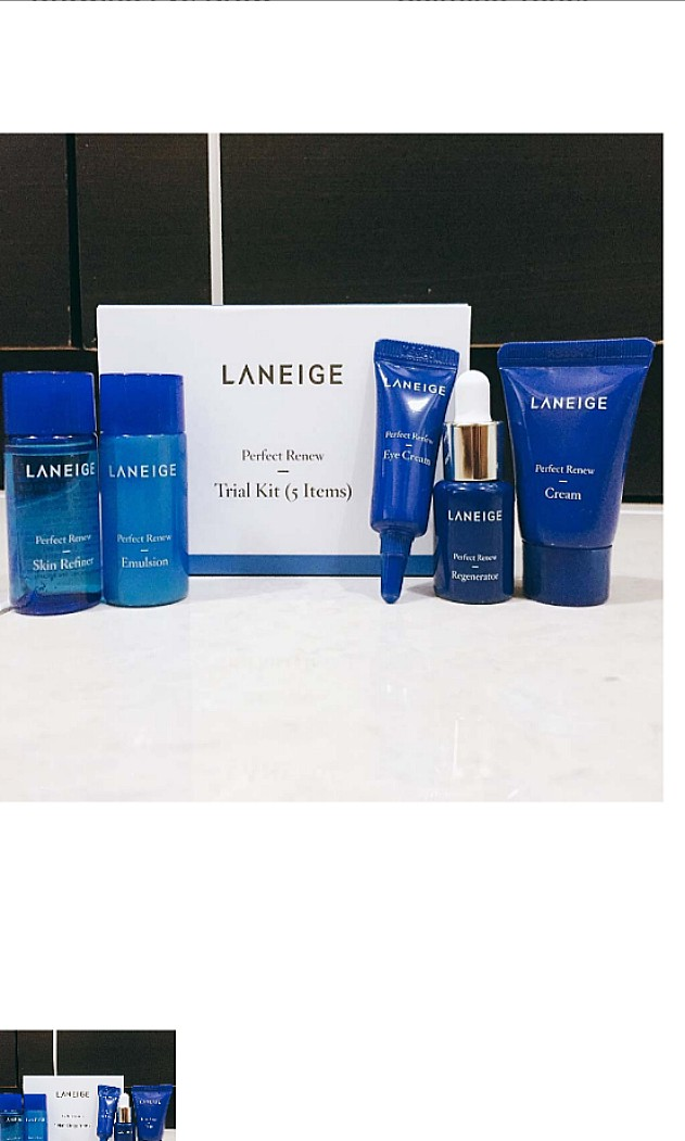 Laneige - Perfect Renew Trial Kit 5 Items