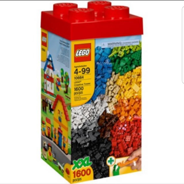 c768f5f2a9f6 Lego creative tower 10664, Toys & Games, Bricks & Figurines on Carousell