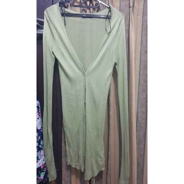 Long cardi Knit
