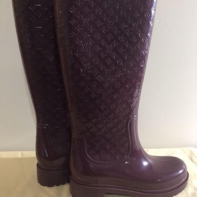 Louis Vuitton Splash Rain Boots - Size 39