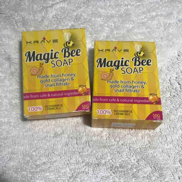 Magic Bee Soap for Acne from Krave Minerals