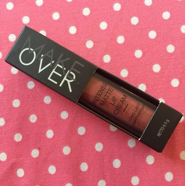 Makeover intense matte lipcream