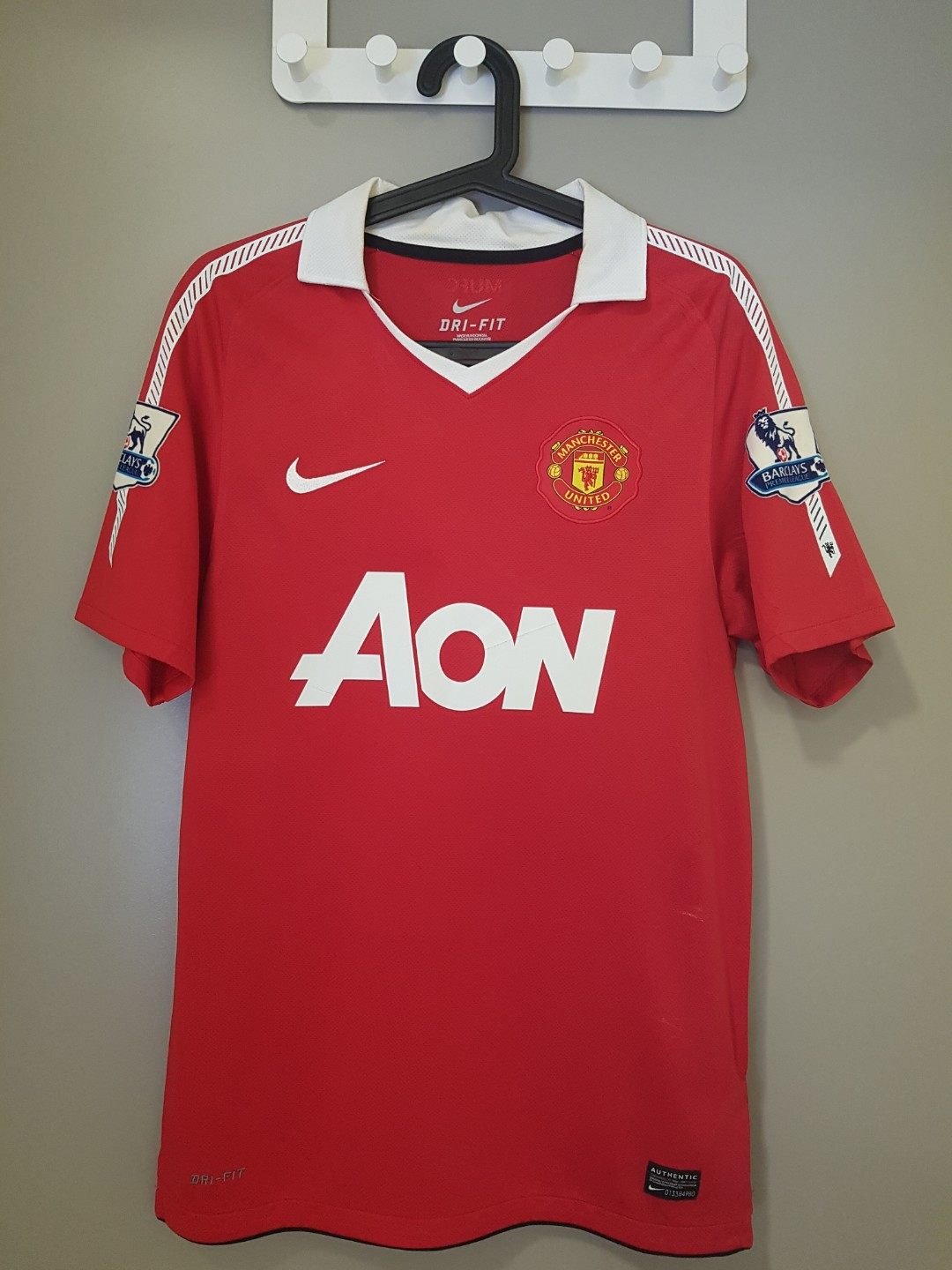 9f93eec25 Manchester United Home Jersey 2010-2011 - Size S
