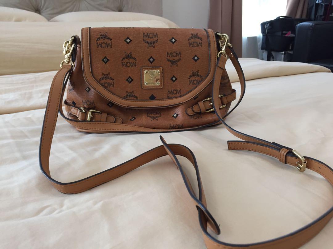 68e42093c879 MCM Sling Bag Authentic