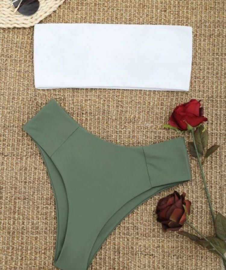 Mid-waist bikini