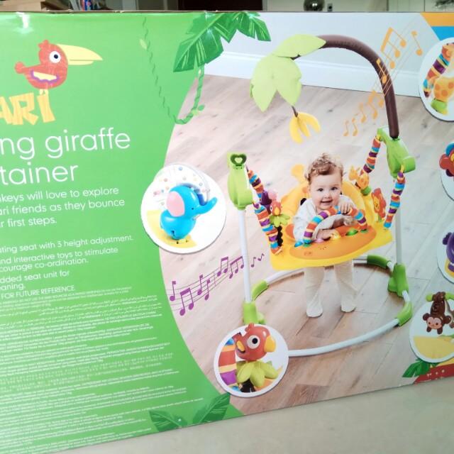 9e0ef9f55e95 Mothercare - Jumping Giraffe Entertainer