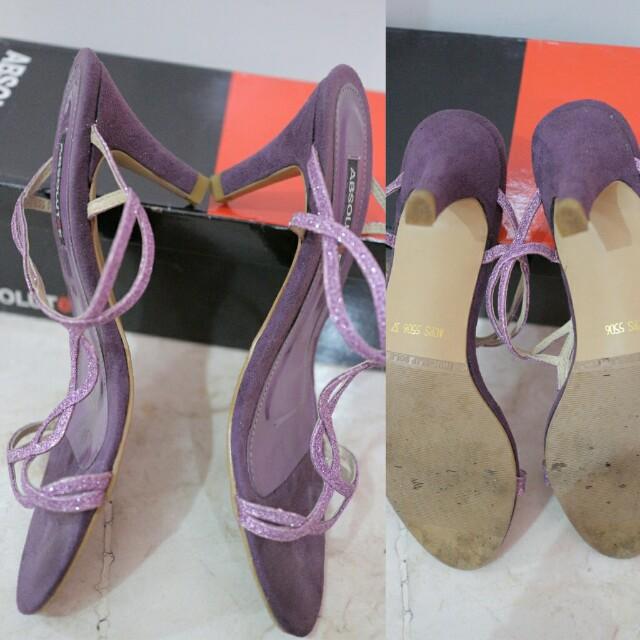 Turun HARGA !! Must Go! Selop ABSOLUTeE purple size 37