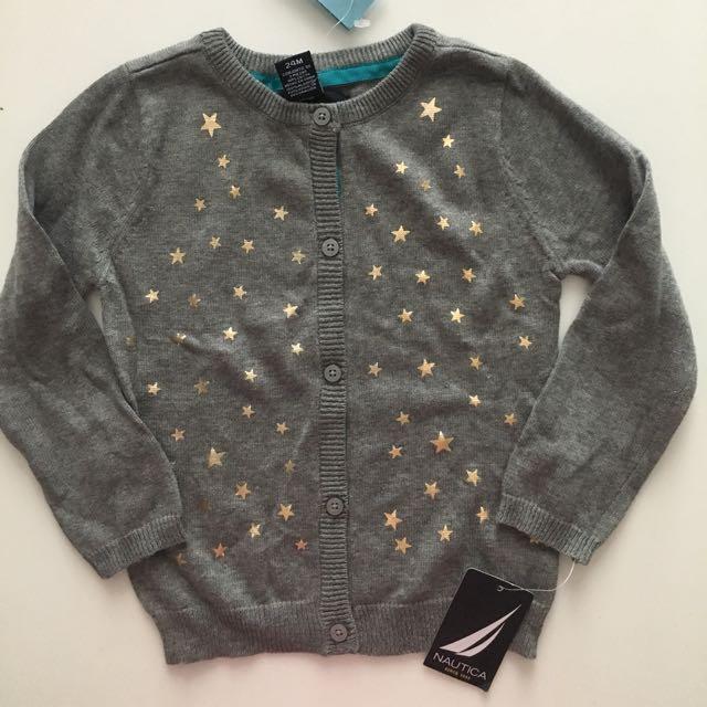 Nautica Baby Girl Knit Jacket