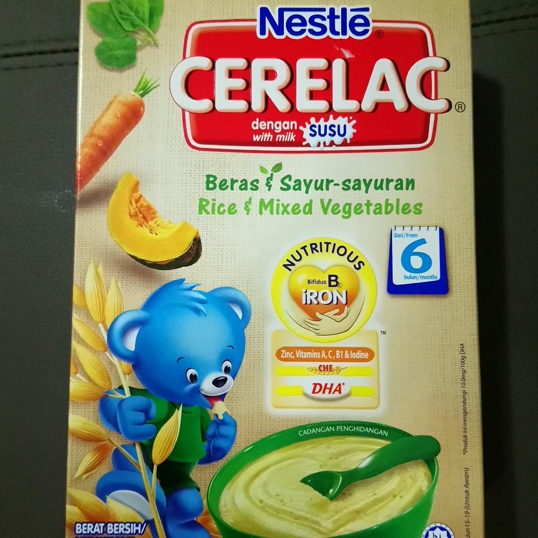 Nestle Cerelac with milk + free sample