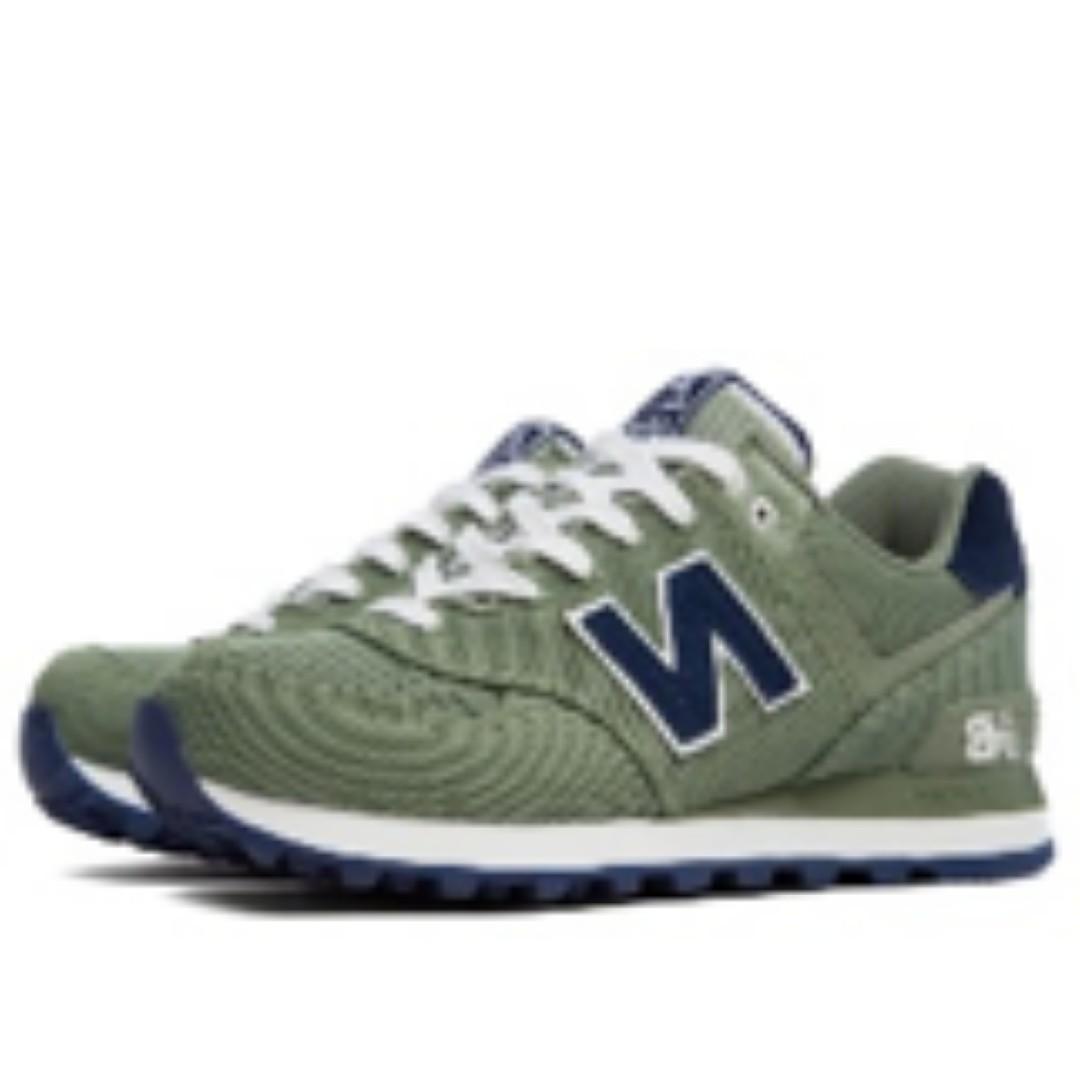 on sale 1da39 7f962 New Balance 574 Navy Green / Blue, Men's Fashion, Footwear ...