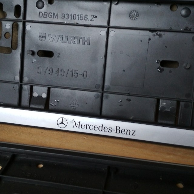 photo photo photo photo & Number plate holder Mercedes Benz Aksesori Auto di Carousell