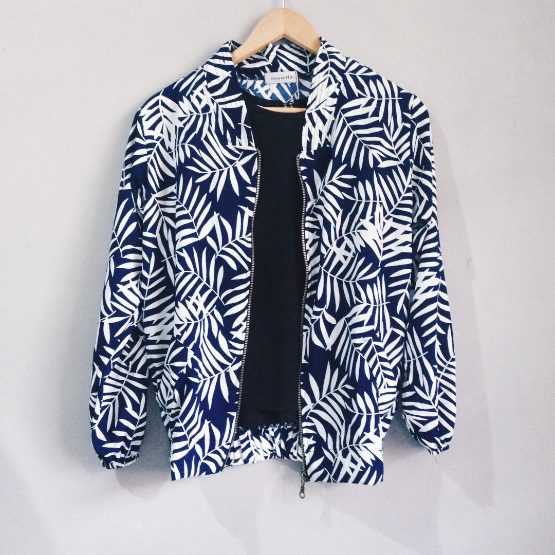 Palm Pattern Jacket