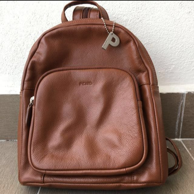 Picard Leather Back Pack