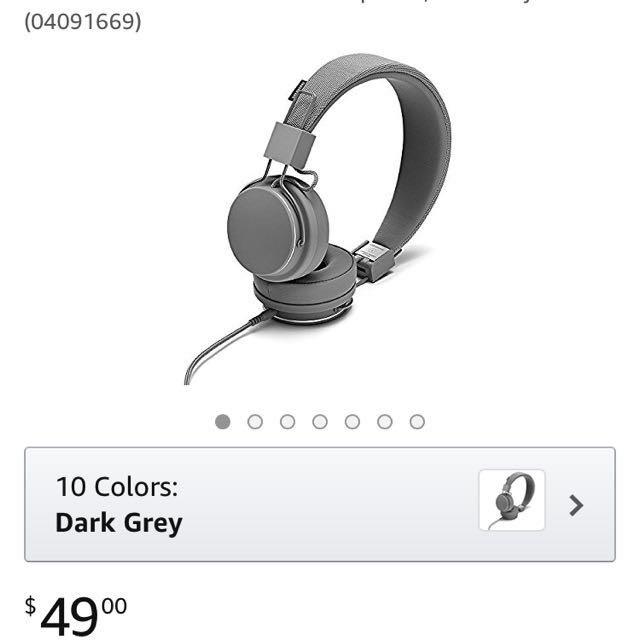 PINK Urbanears headphones