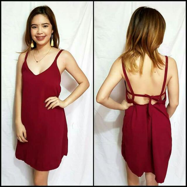 plain and printed summer dress