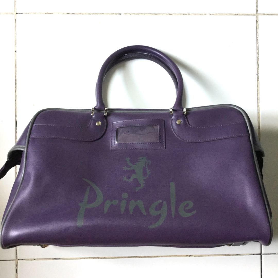 PLOVED: Authentic Pringle Purple Bag