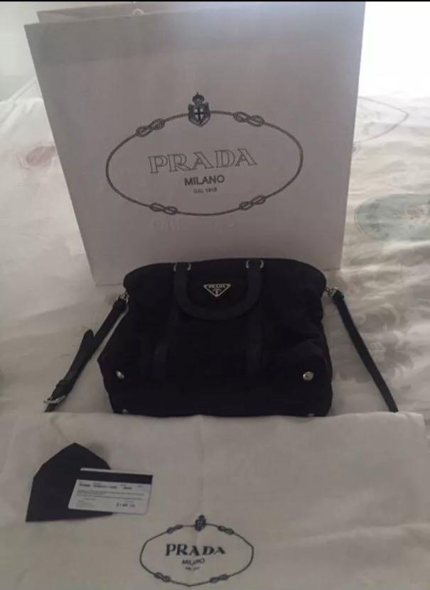 Prada Tessuto Nylon Bag B1066M