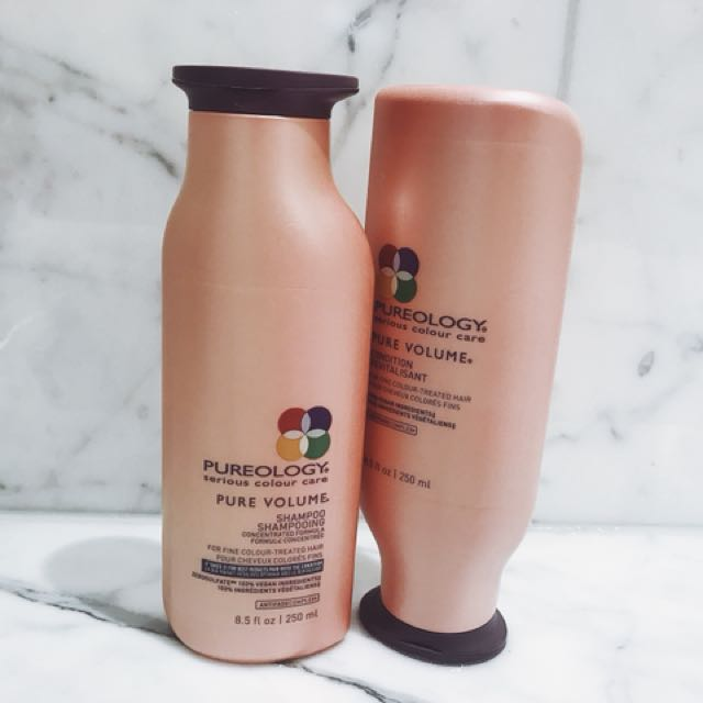 Pureology Voluminizing Shampoo and Conditioner