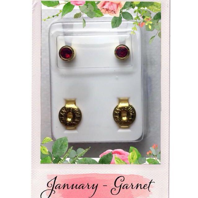 Q1: Birthstone Earrings