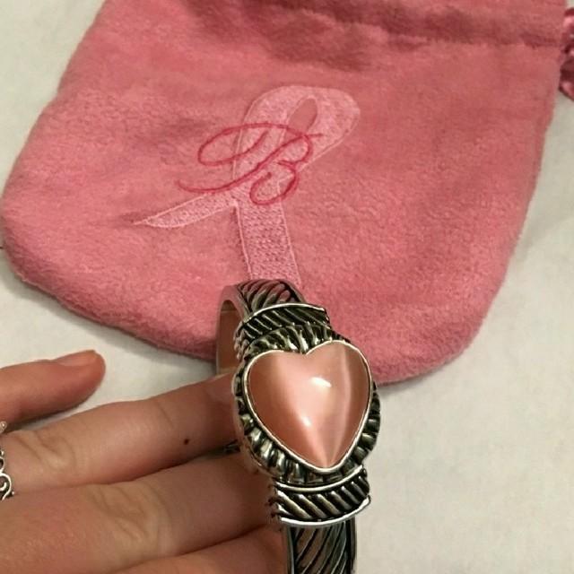 Cute  Pink Heart Bracelet Watch