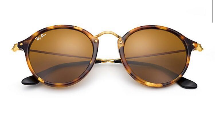 Ray Ban Round Icons Tortoise Brown authentic